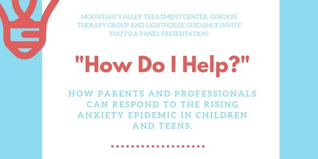 """How Do I Help?"": How You Can Respond to the Rising Anxiety Epidemic tickets"
