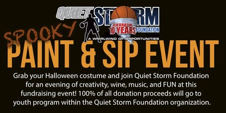 Quiet Storm Foundation Paint and Sip IV tickets