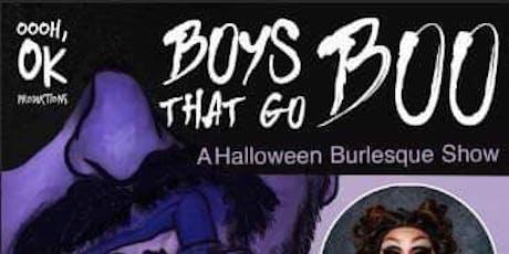 Boys that go BOO! tickets