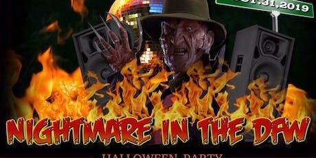 #NightmareInTheDFW Halloween Bash‼️ tickets