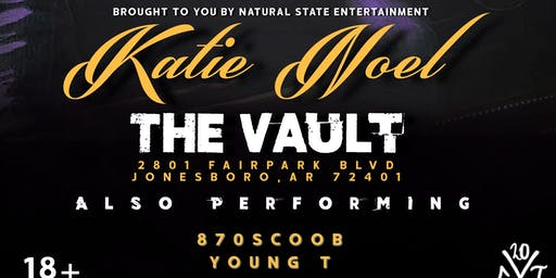 Katie Noel at The Vault VIP Ticket