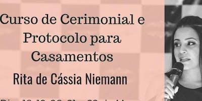 Curso de Formação para Cerimonialistas Brasília - DF