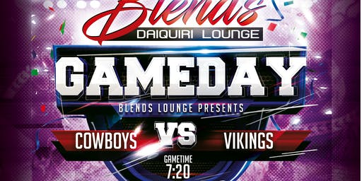 Cowboys vs Vikings Watch Party