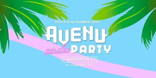 Avenu // Garden Party