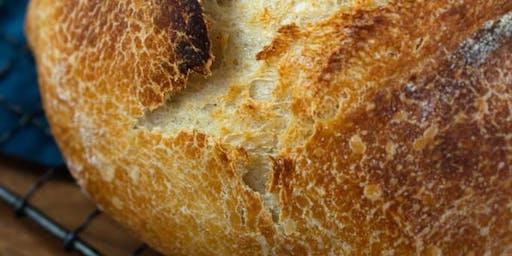 Sourdough Bread and Wine Night
