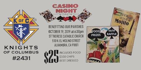 Casino Night @ St. Therese Catholic Church tickets