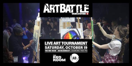 Art Battle Vancouver - October 19, 2019 tickets