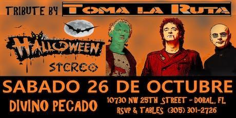 Halloween Stereo (Tributo a Soda x Toma La Ruta @ Divino Pecado) tickets
