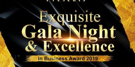 NIDO Europe Exquisite Gala Night & Excellence in Business Award 2019 tickets