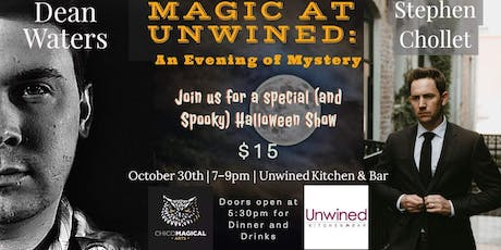 Magic at Unwined: An Evening of Mystery tickets