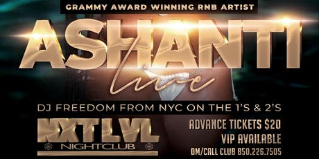 Ashanti Live in Concert tickets