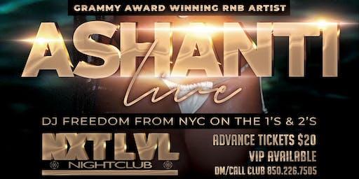 Ashanti Live in Concert