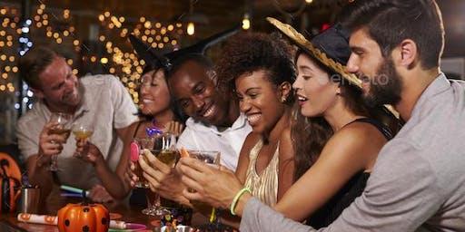 Make new friends this Halloween - Ladies & Gents! (21-50) (FREE Drink/Berli