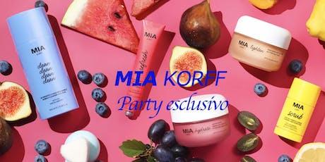 MIA Korff Party esclusivo biglietti