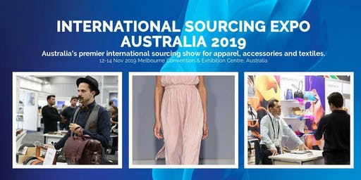 INTERNATIONAL SOURCING EXPO AUSTRALIA 2019