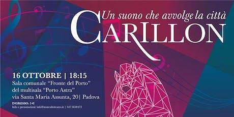 CARILLON 16 Ottobre GUIZZA biglietti