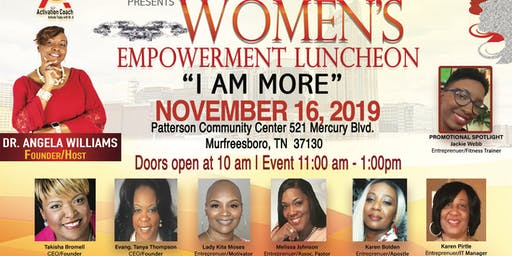 More Than a Woman- Empowerment Luncheon