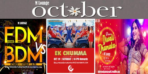 Bollywood Saturdays October