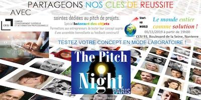 "Pitch night Paris spécial ""IOT"""