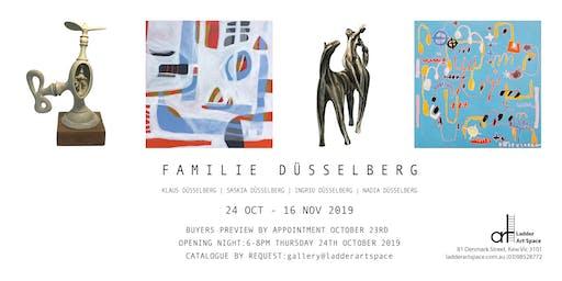 Opening invitation: 'Familie Düsselberg'