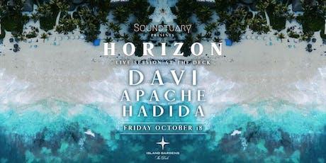 ✵ HORIZON by Soundtuary pres. DAVÍ (Day Zero / Get Lost) ✵ tickets