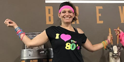 80's Mixtape yoga with Balance & Brews at MadCap Brew Co