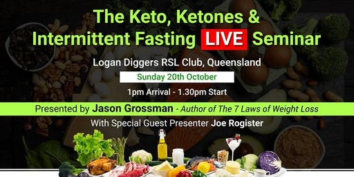 The Keto, Ketones & Intermittent Fasting LIVE Seminar