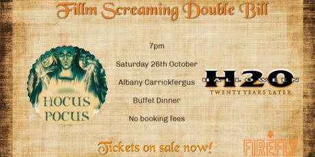 Film Screaming: Hocus Pocus And Halloween  tickets
