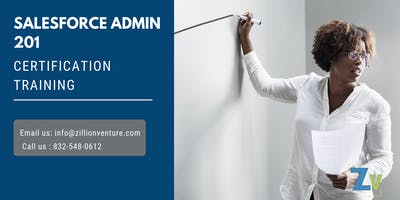 Salesforce Admin 201 Certification Training in New Westminster, BC