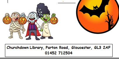Churchdown Library - Halloween Childrens' Craft