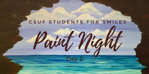 Students For Smiles Paint Night
