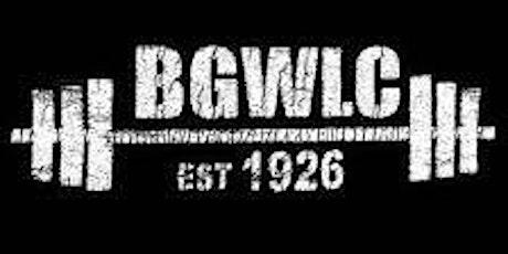 Beginners' Weightlifting Class @ Bethnal Green Weightlifting Club tickets