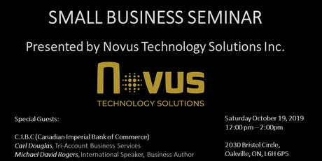 Register to Attend FREE Small Business Seminar tickets