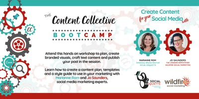 Content Bootcamp – Create Content for your Social Media