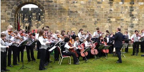 Northumbrian Ranters and Tayside Young Fiddlers at HMS Unicorn