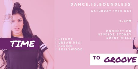 Bollywood and Urban Desi HipHop  dance workshop tickets
