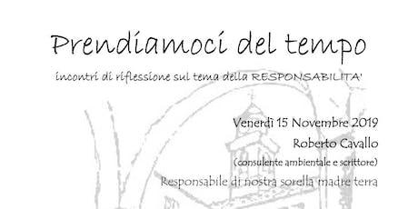 Incontro  Responsabilità e Ambiente #LaBibbiadellEcologia - Genova 15/11 biglietti