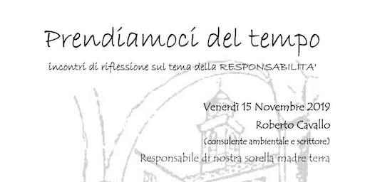 Incontro  Responsabilità e Ambiente #LaBibbiadellEcologia - Genova 15/11