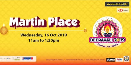Deepavali Festival of Lights 2019 at Martin Place tickets