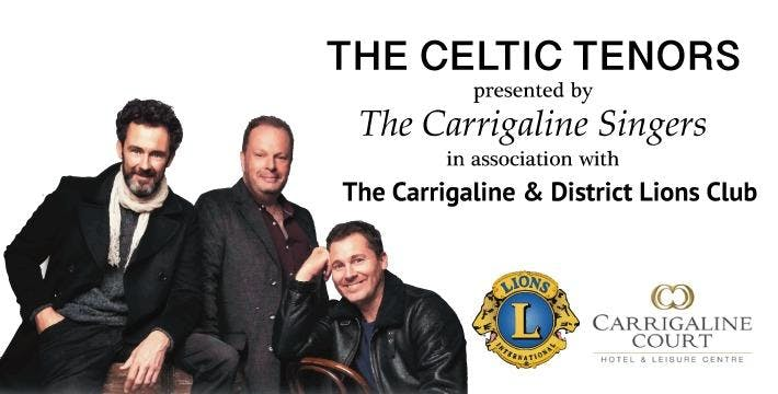 Celtic Tenors Concert with Carrigaline Singers