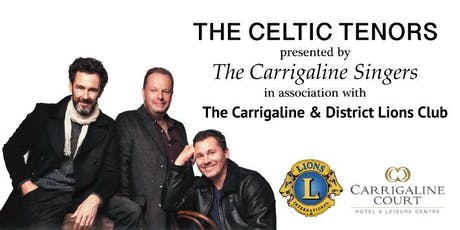 Celtic Tenors Concert with Carrigaline Singers tickets