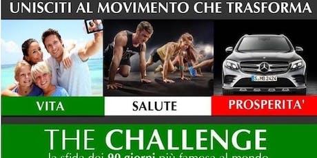 The CHALLENGE 15/10 biglietti