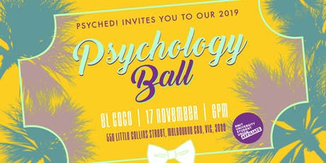 Psyched! Psychology ball 2019 tickets