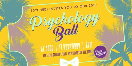 Psyched! Psychology ball 2019