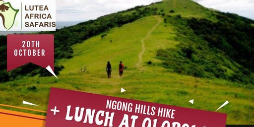 NGONG  HILLS ADVENTURE +LUNCH AT OLEPOLOS