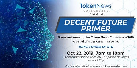 Future of STO: Pre-event meetup for Token News Conference 2019 tickets