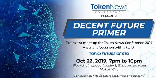 Future of STO: Pre-event meetup for Token News Conference 2019