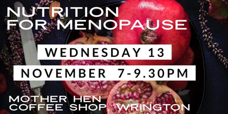 Nutrition and Lifestyle for a Natural Menopause tickets