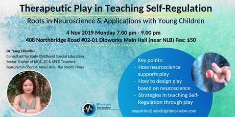 Therapeutic Play in Teaching Self-Regulation tickets