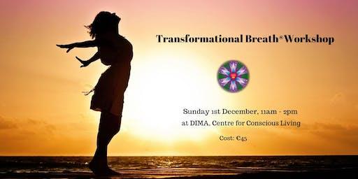 Transformational Breath® Workshop, 1st December, 2019